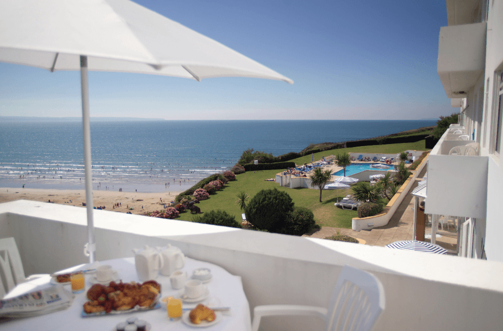 Saunton Sands named as hotel with the best view