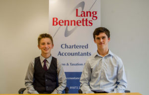 Two new apprentices for Lang Bennetts