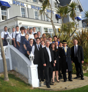 The Royal Duchy Hotel team