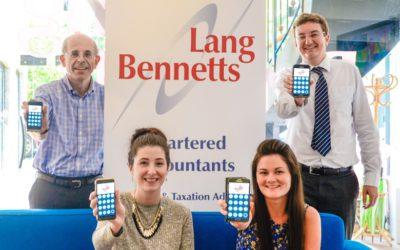 Lang Bennetts launch financial app