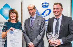 Queen's Award presentation