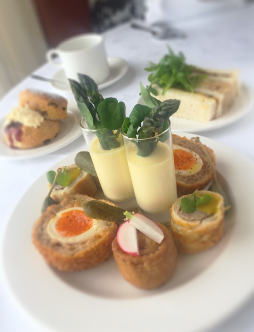 Afternoon tea with a dad-style twist