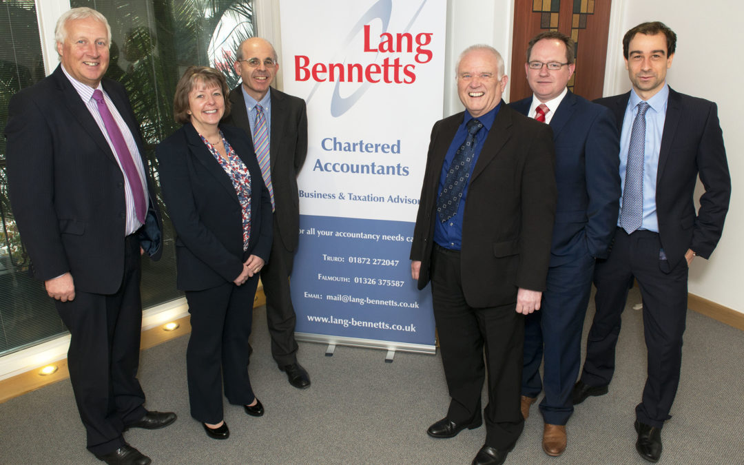 Lang Bennetts shortlisted for British Accountancy Awards