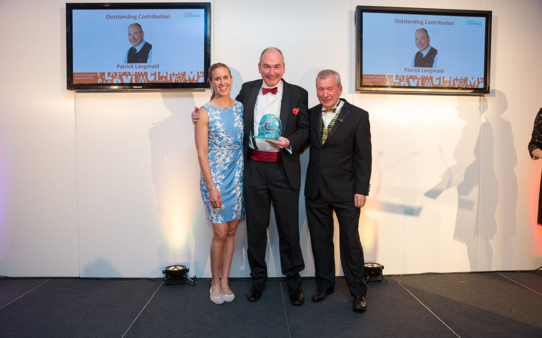 Patrick Langmaid singled out for his 'Outstanding Contribution to Tourism'
