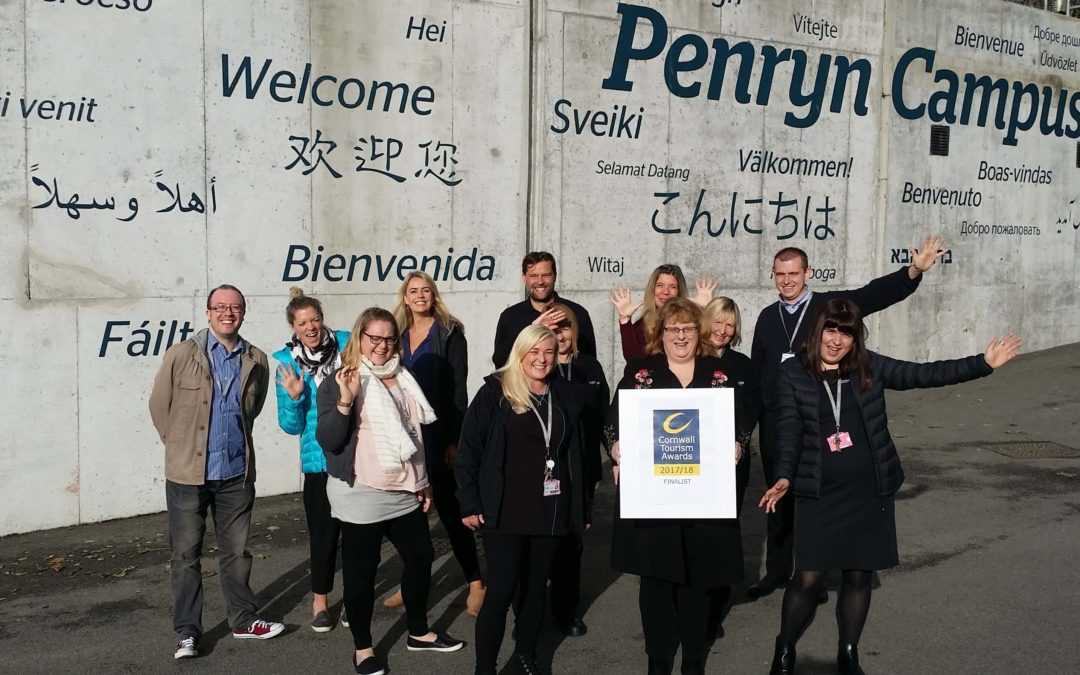 Tourism award nomination for Penryn Campus accommodation