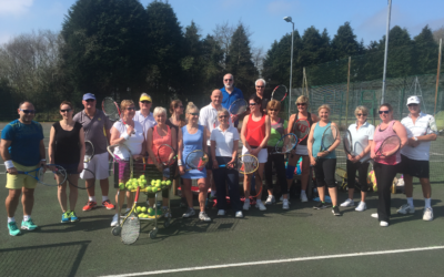 Tennis in Bodmin bucks the national trend