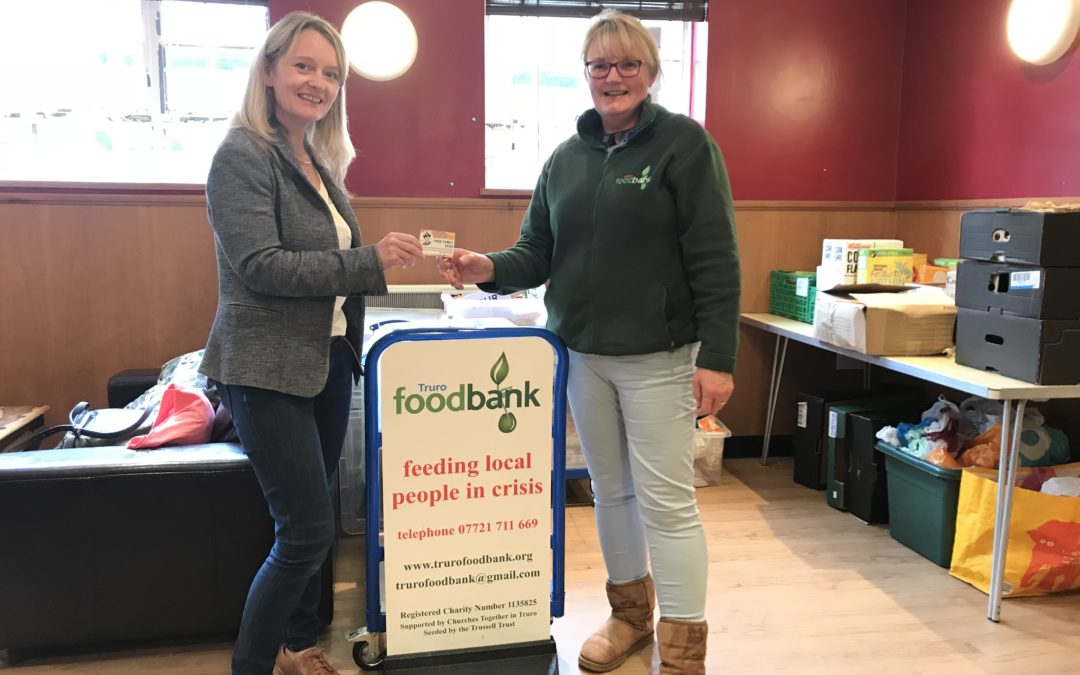 Huge take-up on foodbank family passes