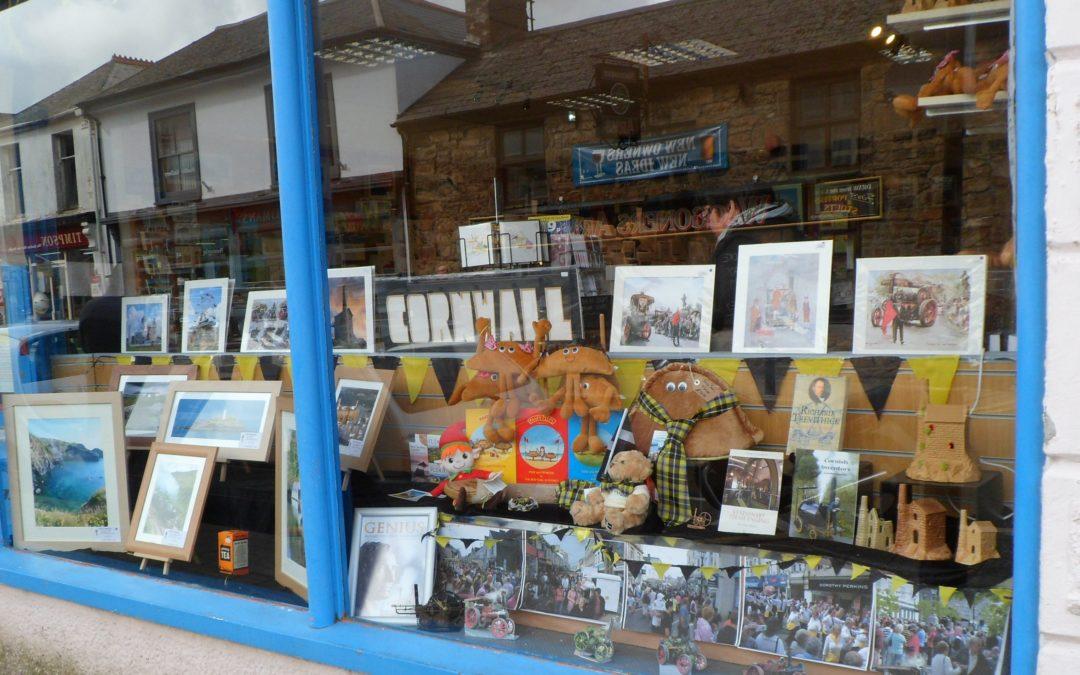 Camborne shops prepare for Trevithick Day