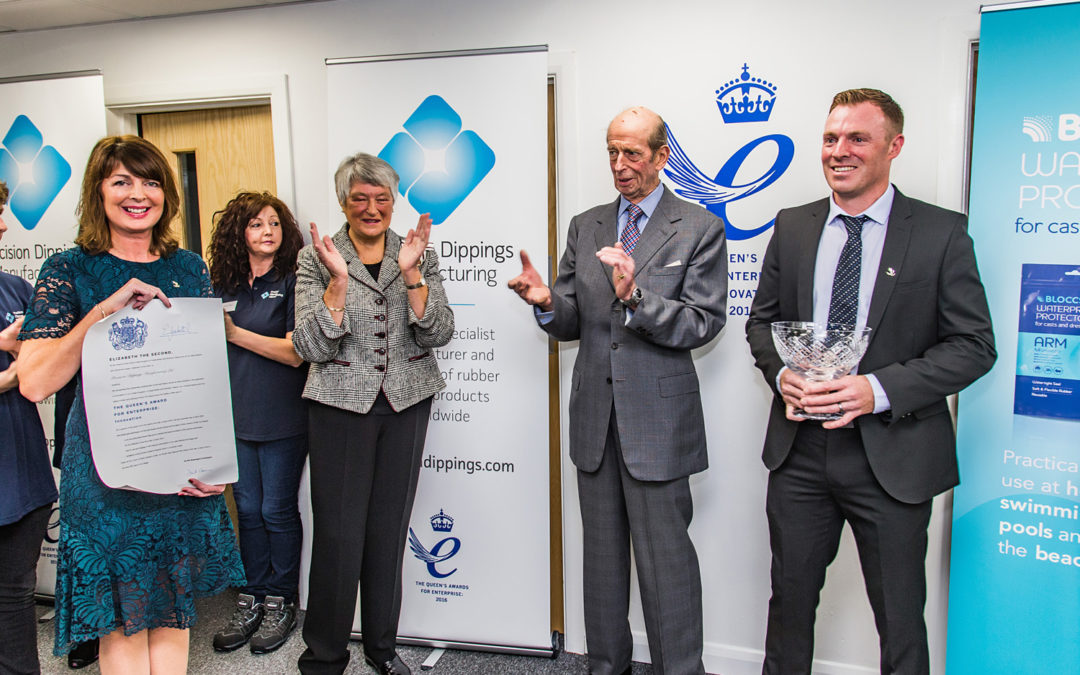 Second Queen's Award for Precision Dippings Manufacturing