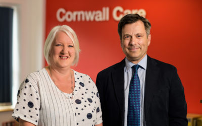 Cornwall Care appoints three new executive directors
