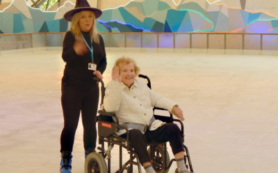 Redannick residents take to the ice