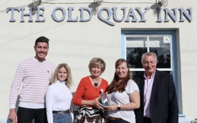 Special gin delivery for Old Quay Inn