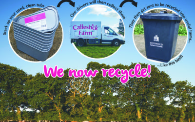 Callestick Farm ice-cream tubs now recyclable