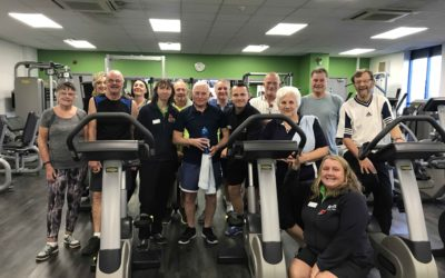 Our gym has proved a life-saver