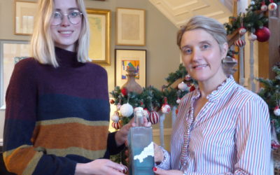 Personal support from singing star for eco-friendly gin