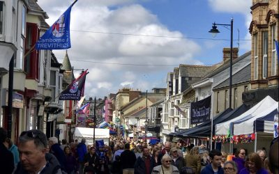 Trevithick Day at home celebration
