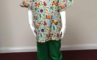 Making scrubs for Cornwall