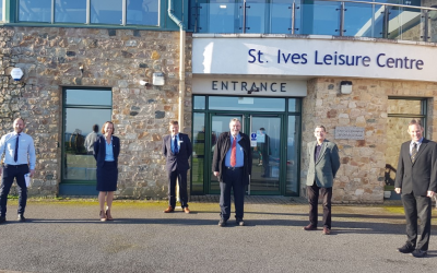 Reopening of leisure centres across Cornwall